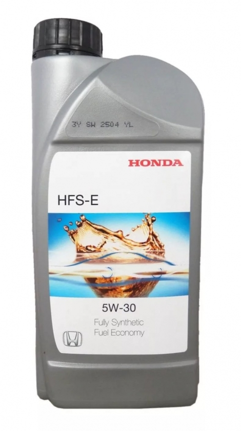 08232P99D1HMR Моторное масло HONDA HFS-E 5W30 1L, Europa Honda