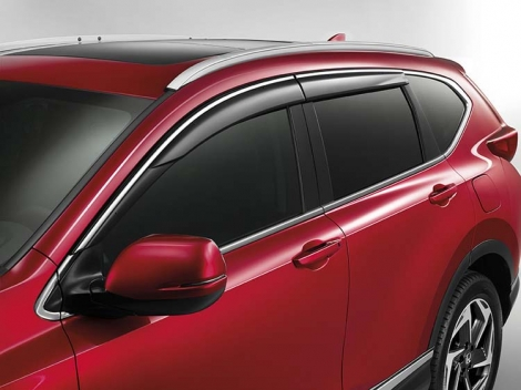 08R04TLA600 Дефлекторы на двери на Honda CR-V от 2017г.-