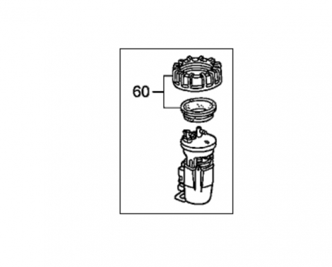 17045S3VA00 Насос топливный в сборе Honda