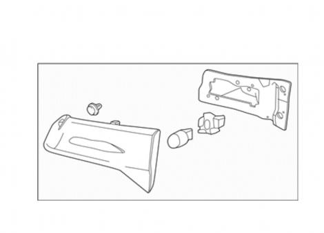 34155TZ5H01 | HONDA Фонарь задний левый, крышка багажника Acura