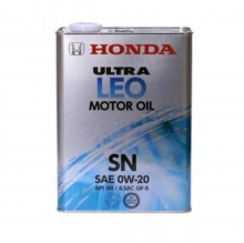 0821799974 | HONDA | Масло моторное 0W-20 Ultra LEO-SN, 4 л.