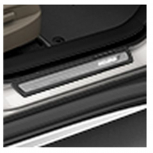 08E12-TZ5-210A Оригинальные Накладки порогов с подсветкой (кт из 4-х штук) на Acura MDX III  (08E12TZ5210A)