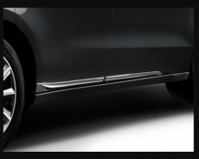 08F57-TZ6-900 Оригинальные Молдинги боковые нижние (хром) на Acura MDX III  (08F57TZ6900)