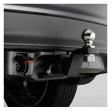 08L92-TZ5-202 Оригинальные Фаркоп + накладка бампера нижняя (08L92-TZ5-200) на Acura MDX III  (08L92TZ5202)