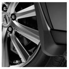 08P00-TZ5-200 Оригинальные Брызговики (комплект). на Acura MDX III  (08P00TZ5200)