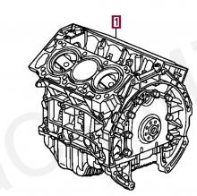 10002RJAE01 Блок цилиндров в сборе Honda Legend 2007 IV J35a Dba-kb1