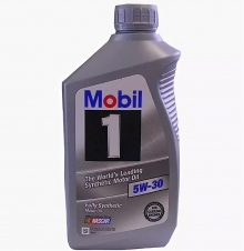 12345885 Моторное масло 5W30 (SYNTHETIC OIL 5W-30' 1L, Mobil 1)