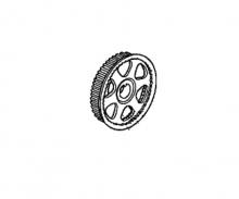 14270RCAA01   HONDA Шкив ремня ГРМ передний