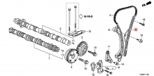 145305A2A01 Успокоитель цепи передний Honda