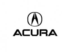 08F03-TZ6-9T0 Оригинальные Накладка бампера декоративная задняя (Губа) на Acura MDX III  (08F03TZ69T0)